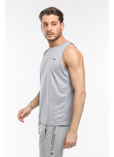 Slazenger Slazenger RUN I Erkek T-Shirt  Gri